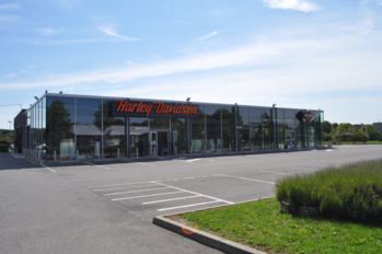 La concession Harley-Davidson Melun Highway 2 Heaven