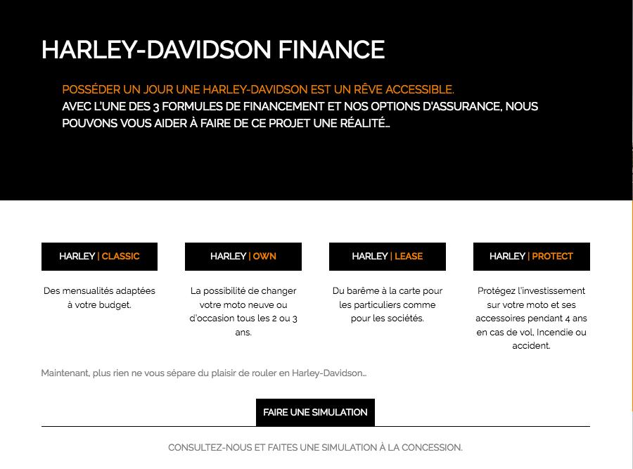 Financement : faites une simulation en ligne et à vous la moto de vos rêves...