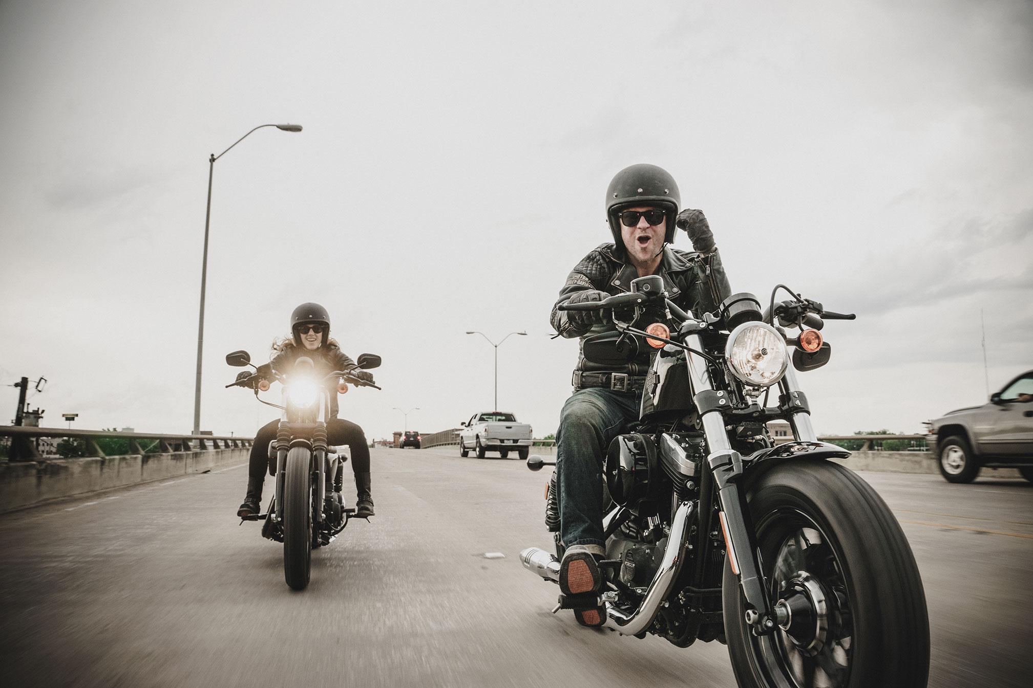 Conditions pour l'essai des motos